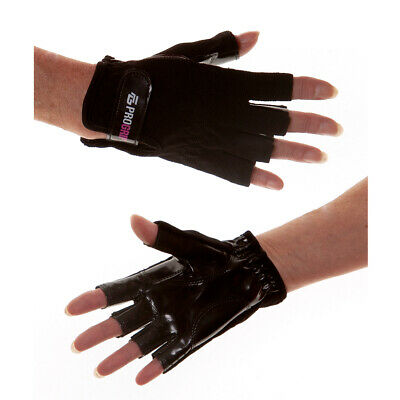 GOGRIP GLOVES Small Black Non-Tack for POLE FITNESS DANCING  X MIGHTY