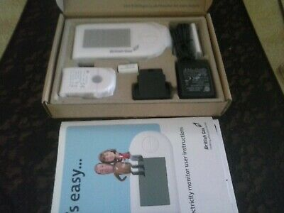 Electricity Monitor kit boxed unused as supplied by British Gas Brand New