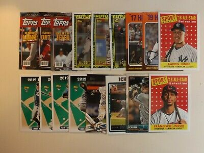 2019 Topps Archives SP High # & Insert Lot ( 17 different ) Meadows Jeter Ohtani