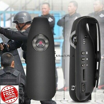 2019 Police Mini Full HD Camera 1080P Camcorder 130D Video Recorder Body Motion