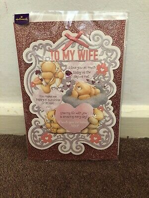 Hallmark To My Wife Birthday Card - Large
