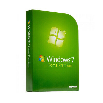Microsoft Windows 7 Home Premium inkl SP1 Vollversion Multilanguage Download