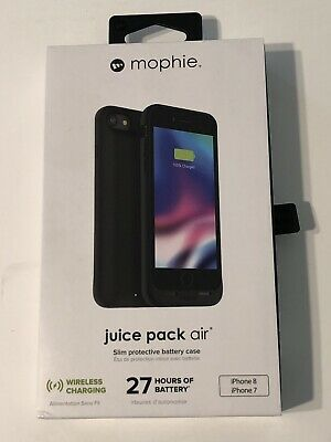 NEW Mophie Juice Pack Air Battery Case Wireless Charging Apple iPhone 8 7 Gold
