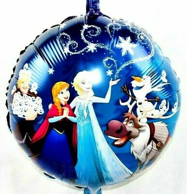 R49F7 Helium Foil Balloon Ice Queen Anna Elsa Olaf Sven Birthday Gift New