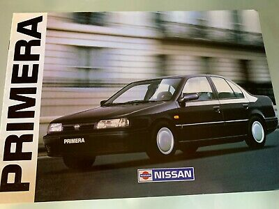CATALOGUE brochure Katalog NISSAN  GAMME 26 PAGES ANNEE 1990