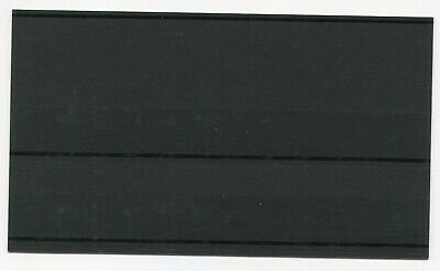 Stamp Stockcards - Black 2 strip with coverleaf x20 - Free Postage