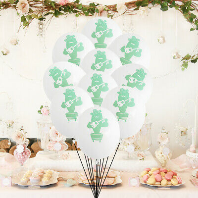 10pcs Balloon Latex Rock Cactus Party Printing Balloon Set Supplies for Festival