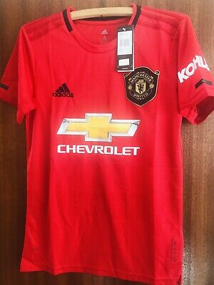 Manchester United FC Home Shirt 2019-2020 (Small Mans) BNWT