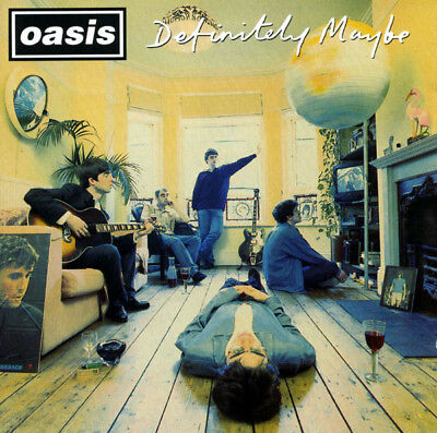 CD Definitely Maybe (1994) Oasis /Live Forever/Supersonic/Cigarettes And Alcohol