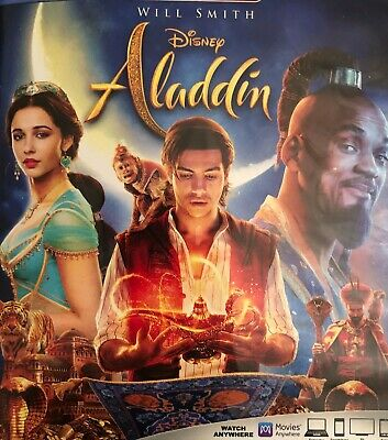 Aladdin 2019  DVD sale Starring Will Smith and others