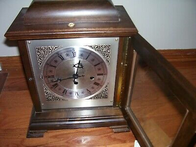 Hamilton Wheatland 340-020 Good Running Mantel Clock With 2 Jewels And  Chimes