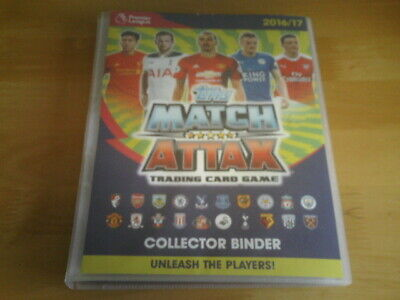 Topps MATCH ATTAX 2016/17 - 335 x Football Trading Cards & Collectors Binder.