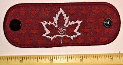 Canada Contingent Canadian Woggle N/C Slide 2019 24th World Boy Scout Jamboree