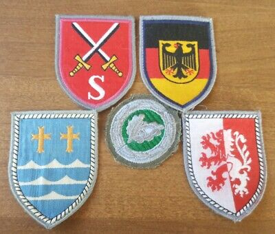West German Army Patch Lot       Panzer/ Infantry