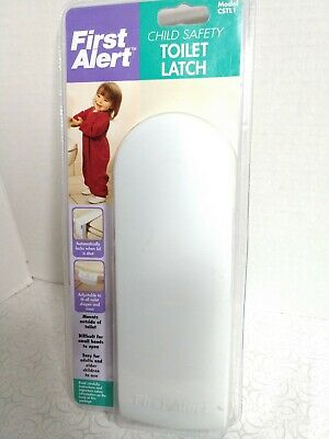 First Alert Toilet Latch Lock Child Baby Safety NEW old Stock NOS