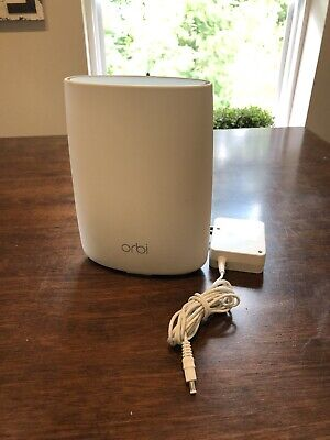 Netgear Orbi AC3000 RBR50 Tri-Band Mesh Wi-Fi System - White (ROUTER ONLY)