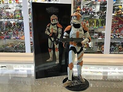 Sideshow Collectibles - Militaries Of Star Wars - Commander Cody- Complete - Mib