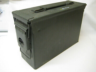 AMMO Can Box US ARMY Military Surplus M19A1 Metal Box Lid Seals Great for Tools