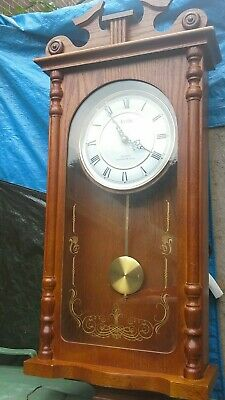 Acctim  Quartz Battery Operated Wall Clock,Westminster Chime.