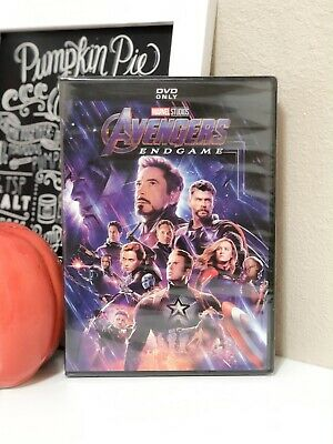 Avengers Endgame DVD Brand NEW / SEALED +FREE SHIPPING MARVEL