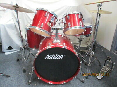 Ashton Maple drums and cymbals