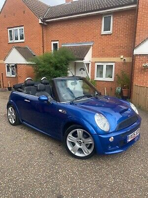 AWESOME! Mini Cooper s convertible 2005.