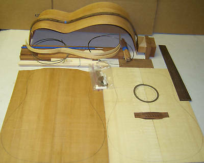 Guitar Kit Acoustic-Dreadnought or OM / OOO- DIY Handcraft Custom All Solid Wood