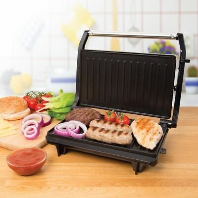 QUEST 2 Slice Panini Toasted Sandwich Toastie Maker & Health Grill 700W