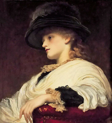 Dream-art Oil painting Lord Frederick Leighton - phoebe nice lady woman figures