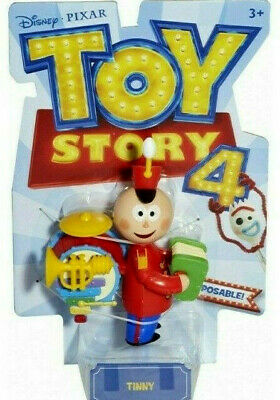Toy Story 4 TINNY The One Man Marching Band Poseable FIgure 2019 Disney Pixar