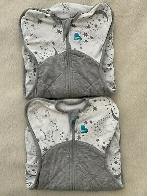 2 x Love To Dream Newborn Swaddle 2.5 Tog- Only Worn For 5 Weeks!
