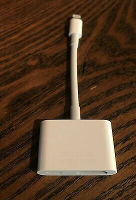AUTHENTIC Apple MD826AM/A Lightning Digital AV HDMI Adapter iPhone iPad - A1438