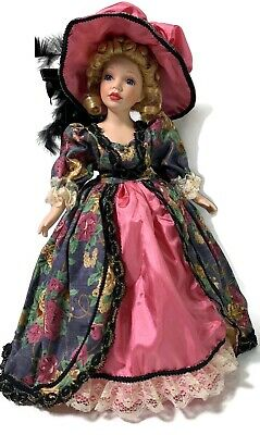 1998 Lady Annabel Porcelain Doll Royal Courts Collection Wm Tung Tuss Box