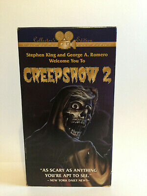 Creepshow 2 VHS Stephen King George A. Romero Collectors Edition