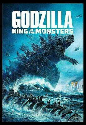 Godzilla King Of The Monsters (New Sealed 2019 Dvd) Action Ships Free