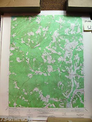 RARE set of 2 Port Tobacco, Rock Point MD TOPOGRAPHICAL MAP US Geological Survey