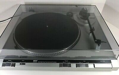 MCS Turntable Record Player 6205: Cleaned and Tested, New Belt Installed, Works