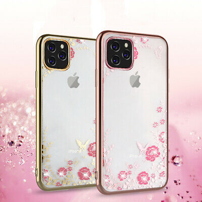 For iPhone 11 Pro Max XS Max XR X 8 7 6 Shockproof Case Cute Girly Luxury Cover