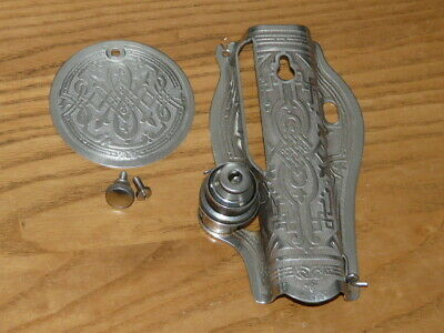 Singer Sewing Machine 15-91 Scrolled Ornate Front & Back Plates