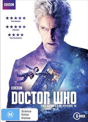 Doctor Who : The Complete Series Season 10 (DVD, 2017, 6-Disc, R4) BRAND NEW