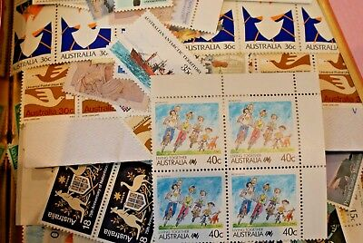 Discount Bulk Australian Postage Stamps with gum  FV $100