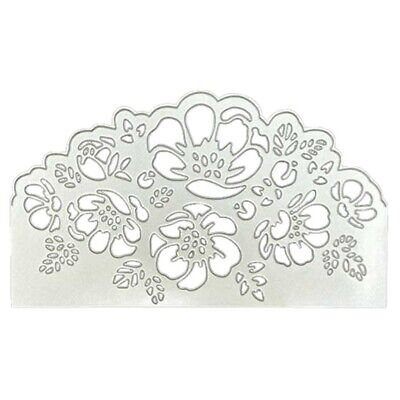 Peony Lace Metal Cutting Dies Stencil Scrapbooking Album Paper Card DIY Decor