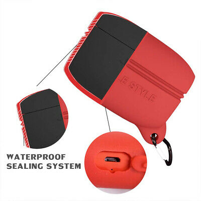 Water-proof Silicone Case Protective Cover for Jabra Elite Active 65T Earphone
