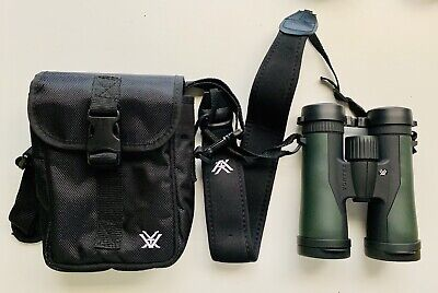 Vortex Optics Crossfire Binoculars 10X42 With Case and Lens Covers
