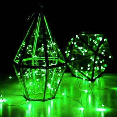 Waterproof 2m 20LED Green Starry Fairy String Centerpiece DIY Party Lighting