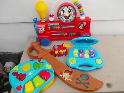 Box Of Toddler Toys  Lights & Sound Working