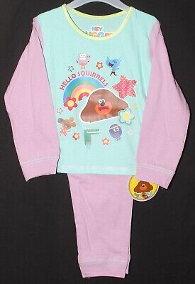 Girl's HEY DUGGEE Pyjamas/ 100% Cotton Long-Sleeved PJs NWT 18 Months-5 Years