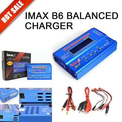 iMAX B6 80W  2-20V RC Battery Charger Lipo NiMh Battery Balance Digital Charger