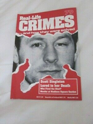 real life  crime magazine number   79