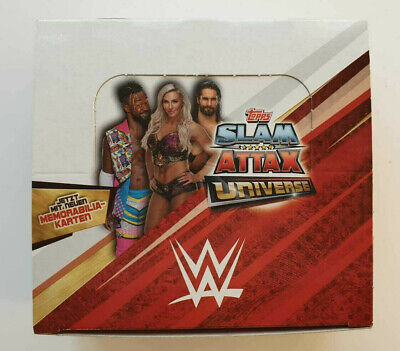 Topps Slam Attax Universe Trading Cards  1 Display 36 Tütchen  OVP